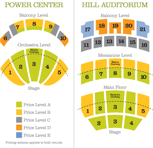 Venue Seating Chart