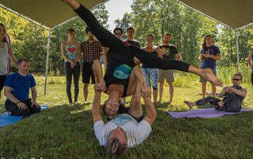 Retreat: Taking Flight with AcroYoga<br>w/ AcroYoga Ann Arbor