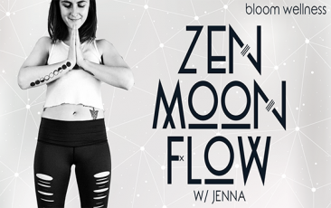 Retreat: Zen Moon Flow<br>w/ Bloom Wellness