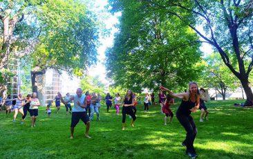 Retreat: World Dance Workout<br>w/ World Dance Workout