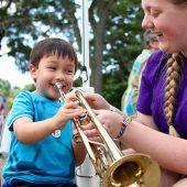 KidZone: Ann Arbor Symphony Orchestra<br>Instrument Petting Zoo