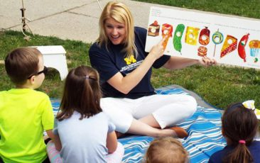 """KidZone: University Center for Language and Literacy<br>""""Pete the Cat"""" Interactive Reading Experience"""