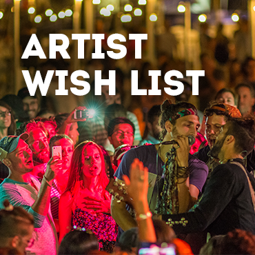 Artist Wish List