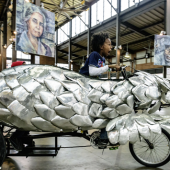Juan Martinez<br>Pedal Powered Kinetic Sculptures Made in Detroit