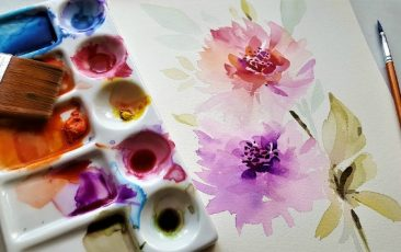 Watercolor Painting<br>w/ AADL