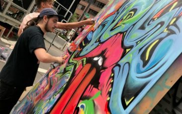Live Graffiti Muraling<br>w/ the Neutral Zone