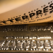 Letterpress Workshop<br>w/ AADL