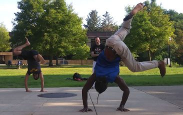 Retreat: Ann Arbor Capoeira<br>with Van Robins