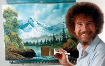 The Annex: Bob Ross Paint-Along