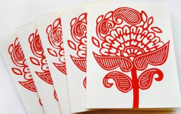 The Annex: Block Printing & Letterpress Workshop