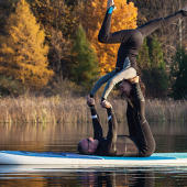 Retreat (Virtual): AcroYoga<br>with Jim Gilligan