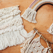 Kidzone (Virtual): DIY Macramé Wall Hangings