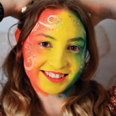 Kidzone (Virtual): Rainbow Face Painting Tutorial