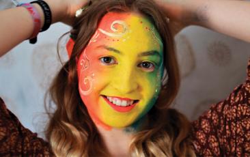 Kidzone (Virtual): Rainbow Face Painting Tutorial