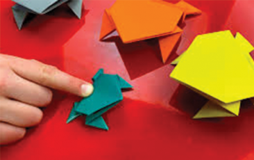 Kidzone (Virtual): Simple Origami Lesson