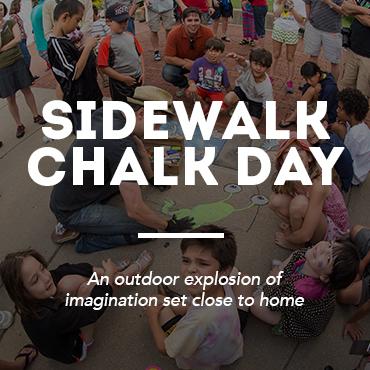 Sidewalk Chalk Day